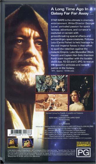 Star wars release date 1977 in Australia